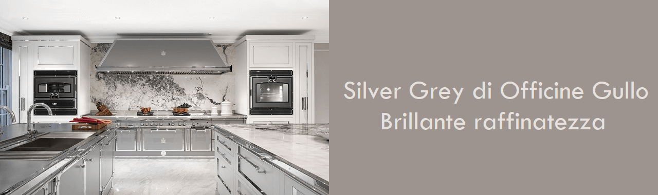 Silver Grey di Officine Gullo: brillante raffinatezza