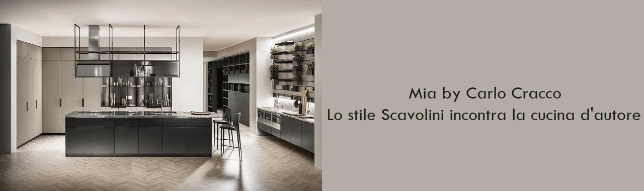 Mia by Carlo Cracco: la stile Scavolini incontra la cucina d'autore