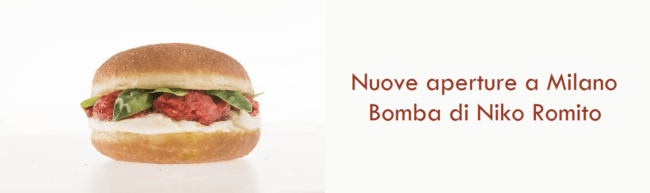 Nuove aperture a Milano: Bomba di Niko Romito