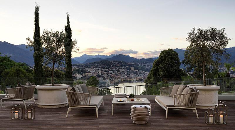 Bjorn Van Den Oever al The View Lugano