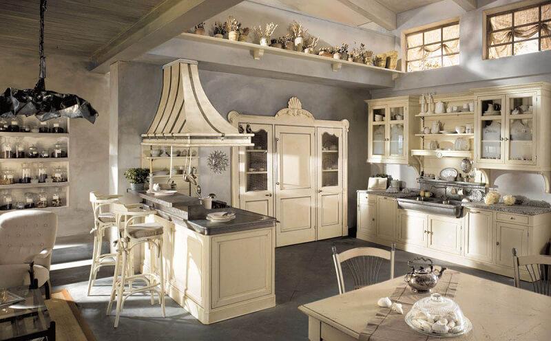 Dhialma di Marchi Cucine: armonia country chic Cucine d\'Italia