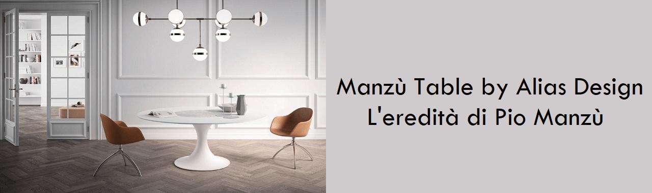 Manzù Table by Alias Design: l'eredità di Pio Manzù
