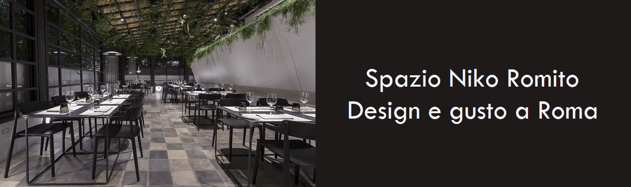 Spazio Niko Romito: design e gusto a Roma