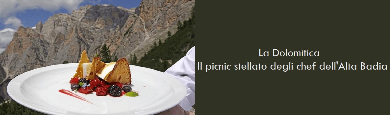 La Dolomitica: il picnic stellato degli chef dell'Alta Badia