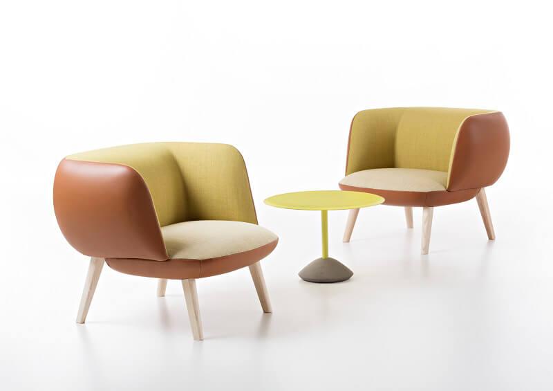Poltrona Betty by Christoph Jenni Maxdesign