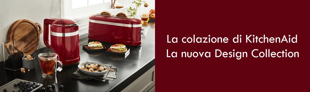 La magia della colazione: la nuova Design Collection KitchenAid