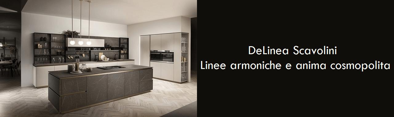 DeLinea Scavolini: linee armoniche e anima cosmopolita