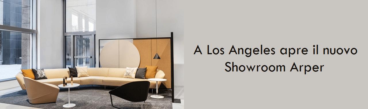 A Los Angeles apre il nuovo showroom Arper