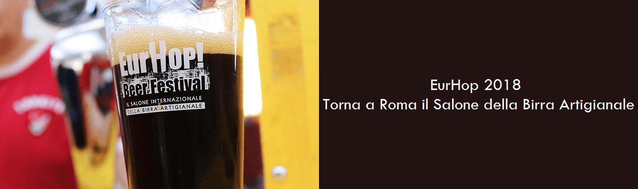 EurHop 2018: torna a Roma il Salone della Birra Artigianale