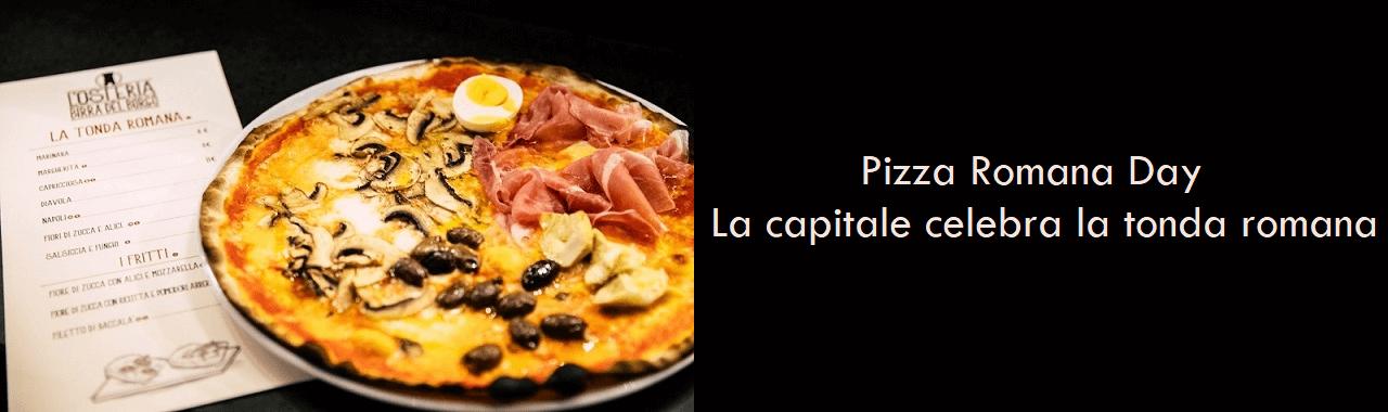 Pizza Romana Day: il 13 settembre la capitale celebra la tonda romana