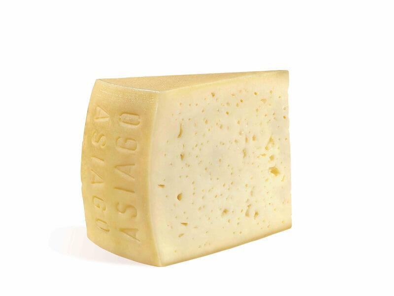 Asiago DOP latte razza bruna