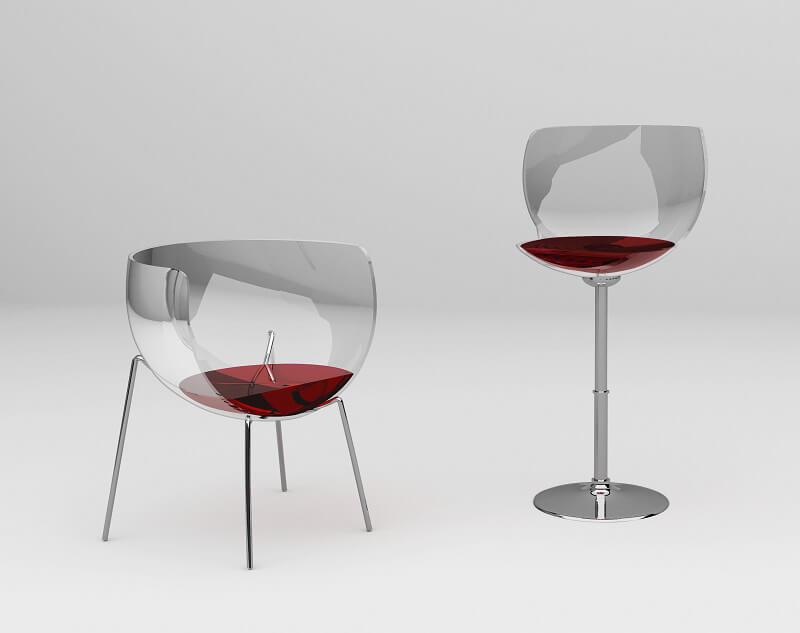 The Merlot Chair Arredi gourmet