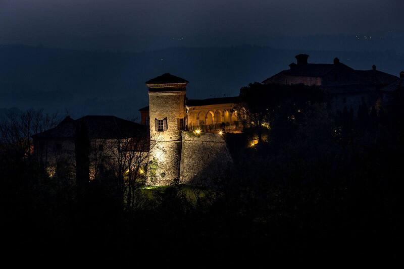 Castello infestato Castello di Scipione