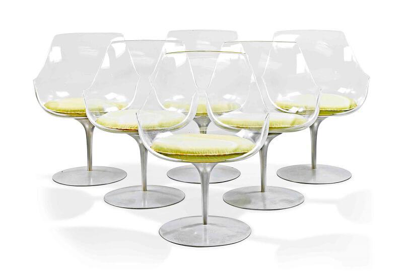 Champagne Chair Arredi gourmet