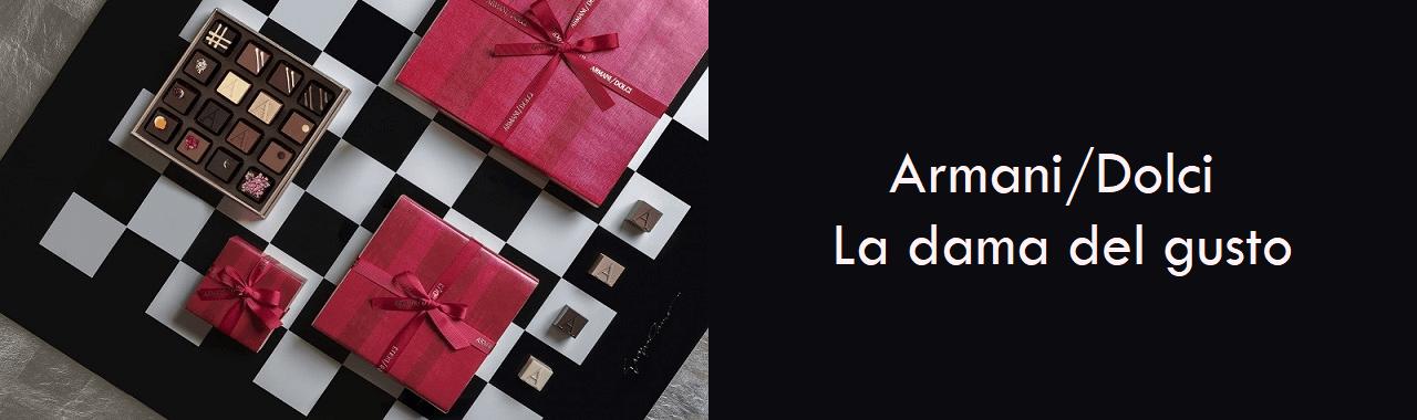 Armani Dolci: la dama del gusto