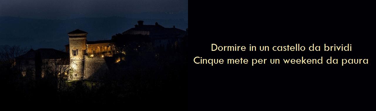 Dormire in un castello da brividi: cinque mete per un weekend da paura