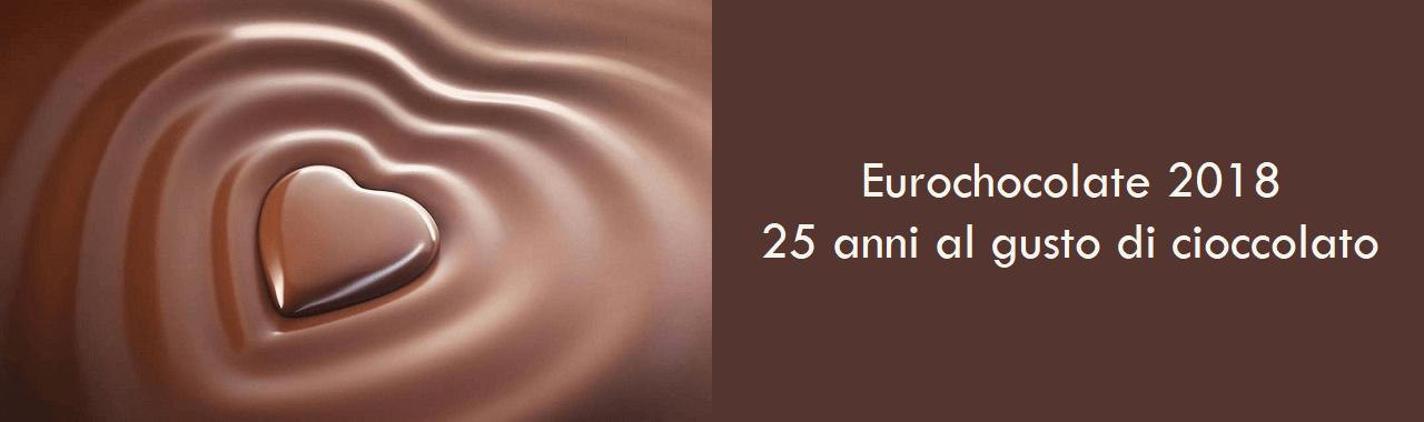 Eurochocolate 2018: 25 anni al gusto di cioccolato