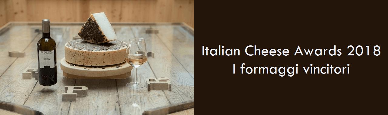 Italian Cheese Awards 2018: i formaggi vincitori