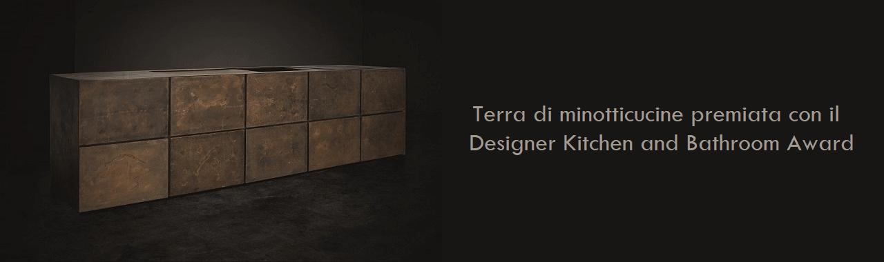 Terra di minotticucine premiata con il Designer Kitchen and Bathroom Award