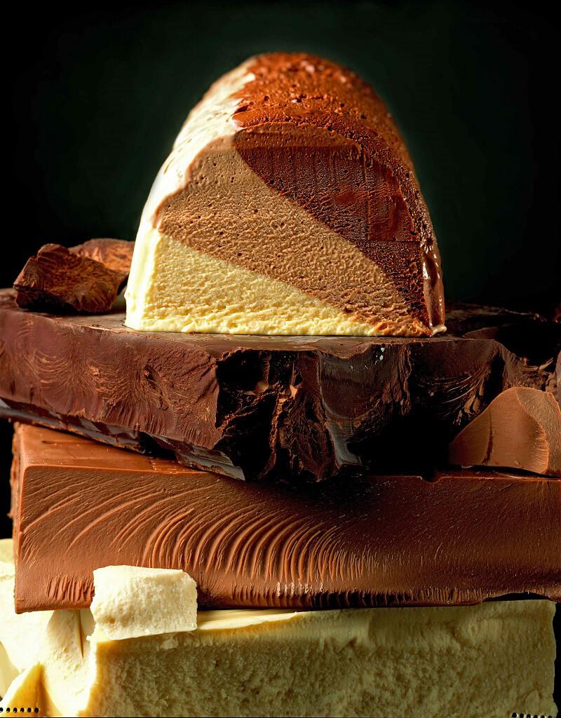 Tris Day Ernst Knam Terrina Mousse ai tre cioccolati