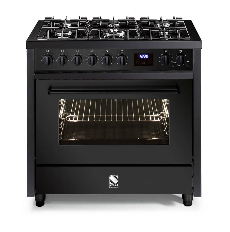 Enfasi All Black Steel Cucine