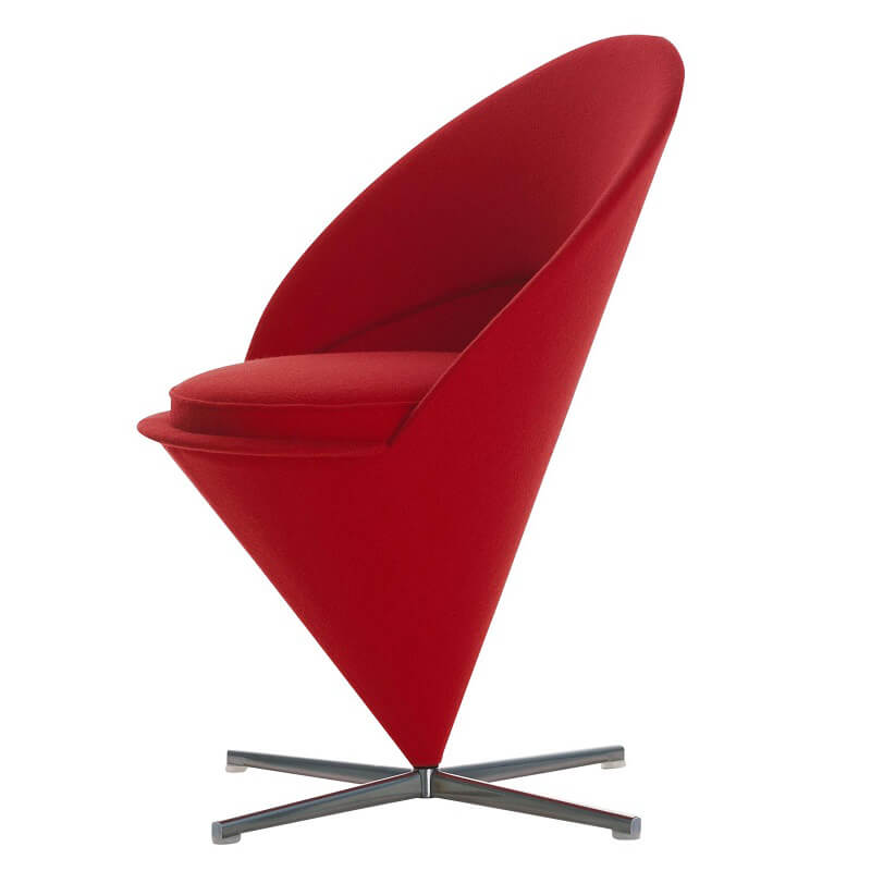 Rosso Natale Cone Chair Vitra