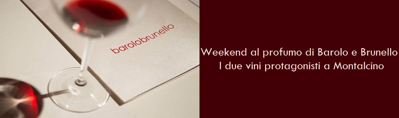Weekend al profumo di Barolo e Brunello: i due nobili vini protagonisti a Montalcino