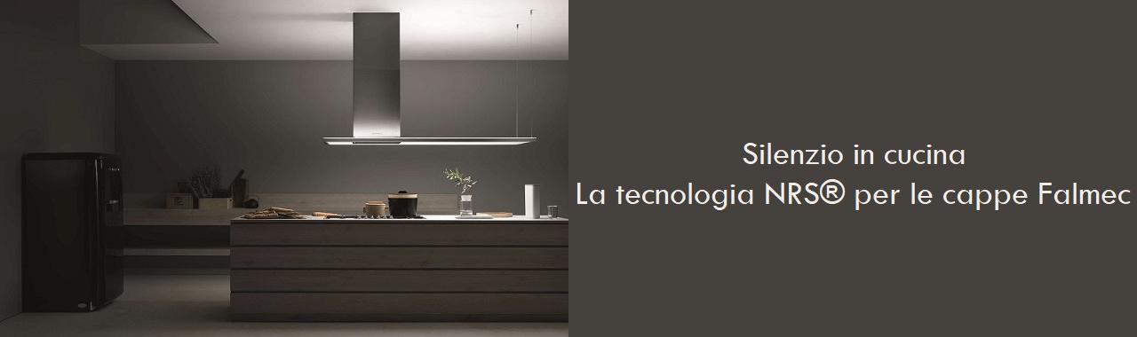 Silenzio in cucina: la tecnologia NRS® per le cappe Falmec Cucine d ...