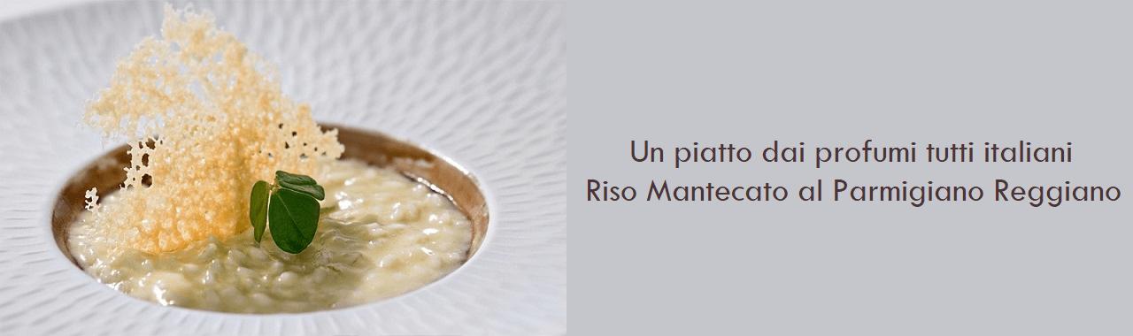 Un piatto dai profumi tutti italiani: Riso mantecato al Parmigiano Reggiano