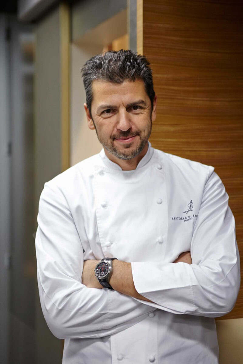 Dining with the Stars 2019 Andrea Berton