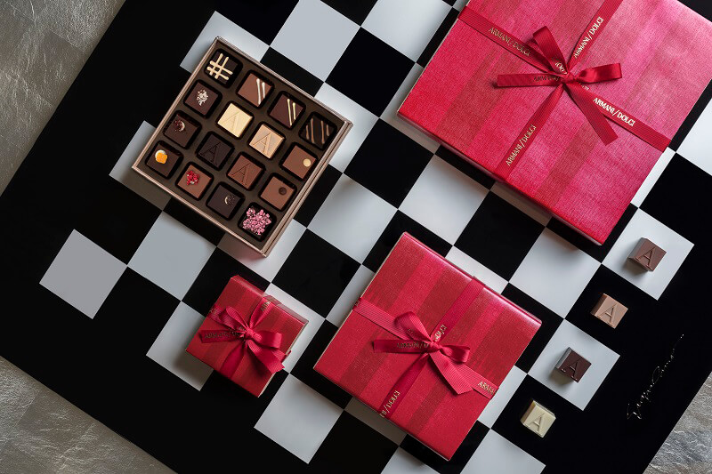 Natale Gourmet Armani Dolci