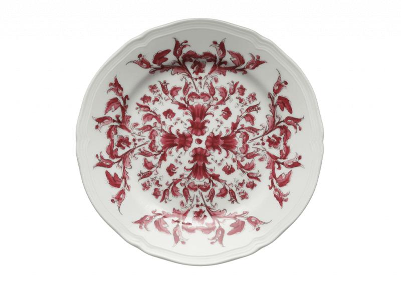 Colore in tavola Bread Plate Babele Rosso