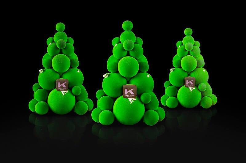 Natale Gourmet Bubble Tree Verde