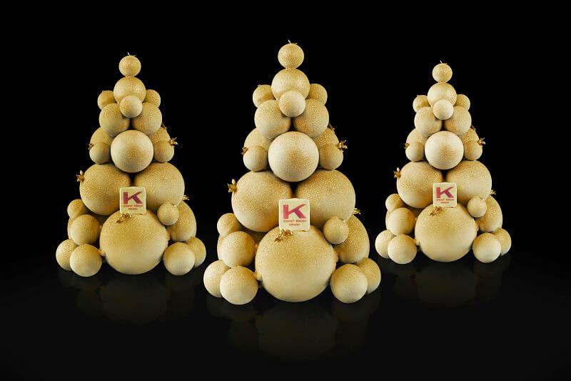 Natale Gourmet Bubble Tree Oro