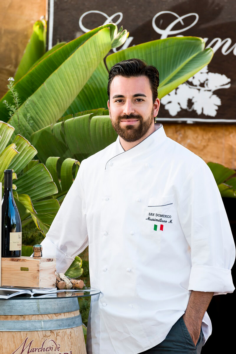Dining with the Stars 2019 Massimiliano Mascia