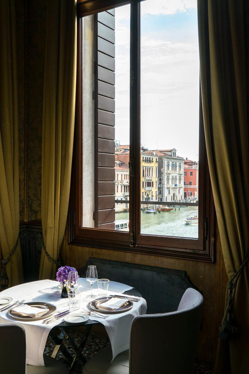 Cena romantica Aman Venice