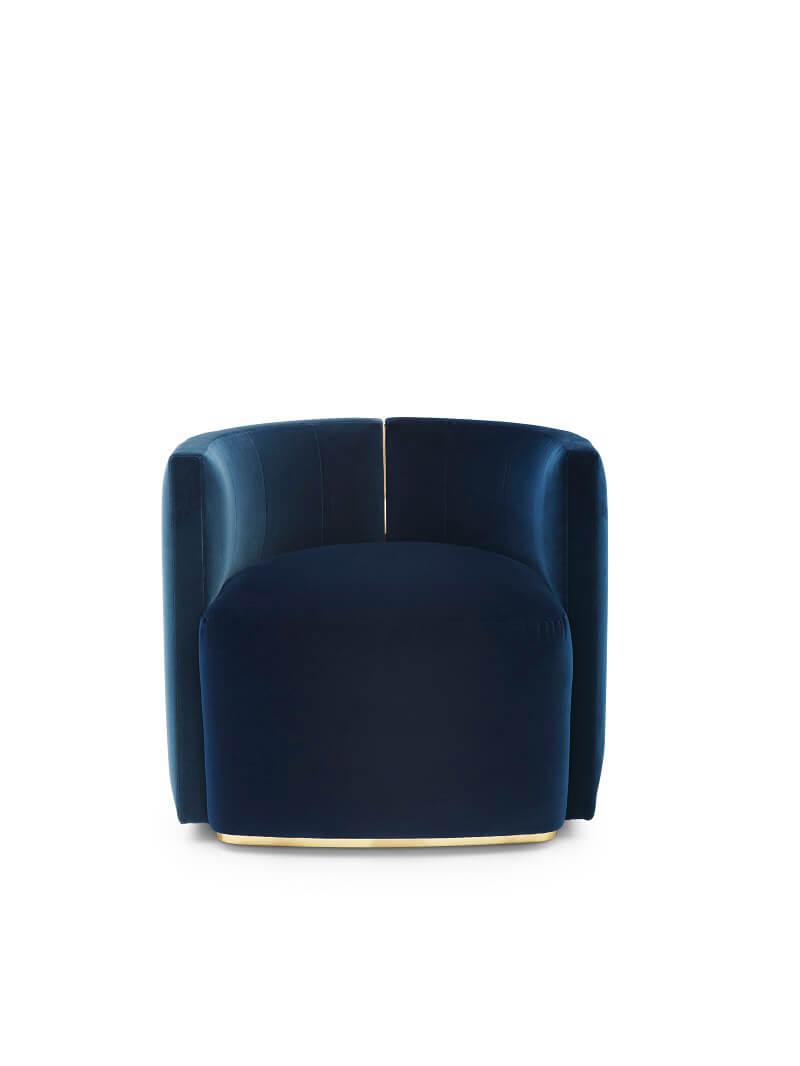 Fendi Casa Camilla armchair bicolour front
