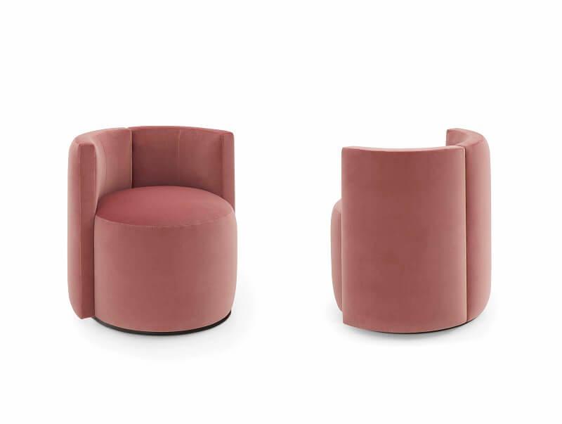 Fendi Casa Loulou small armchairs