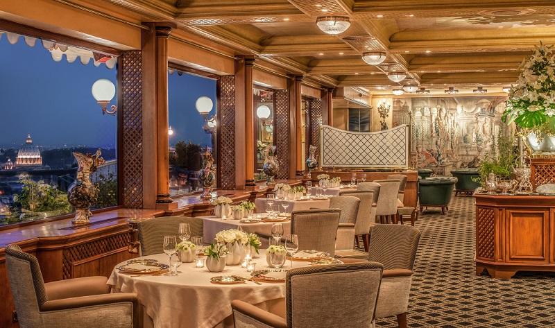 ristorante-la-pergola-roma cena romantica