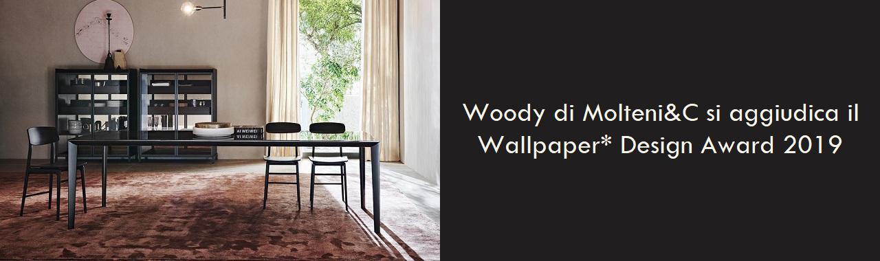 Woody di Molteni&C si aggiudica il Wallpaper* Design Award 2019