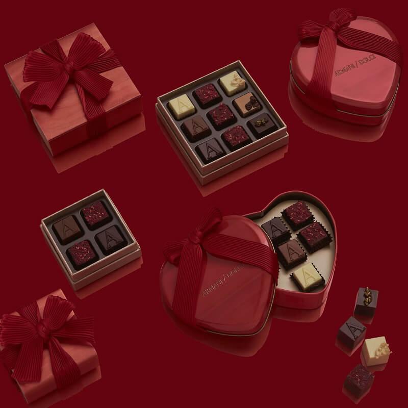 San Valentino al cioccolato Armani Dolci
