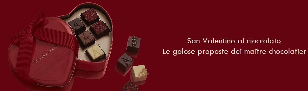 San Valentino al cioccolato: le golose proposte dei maître chocolatier