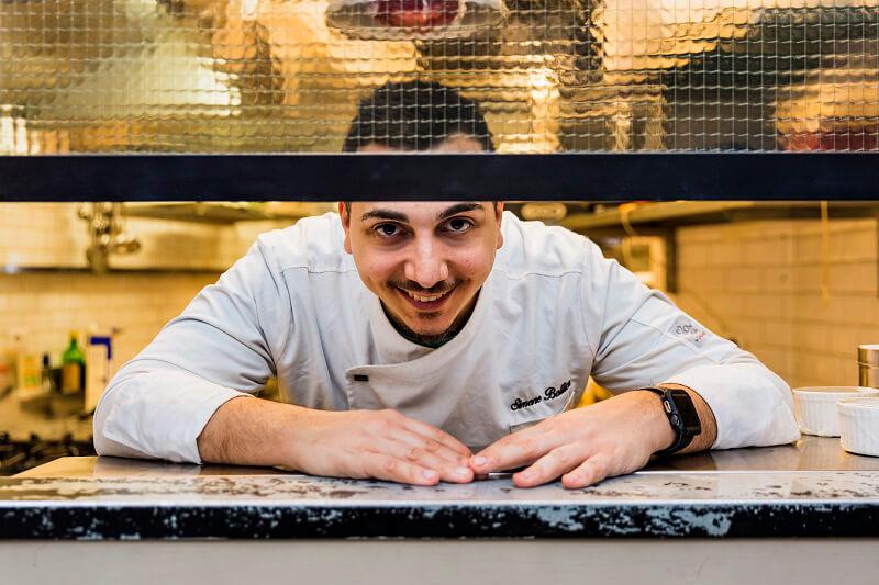 Chef Simone Ballicu Ristorante Gola