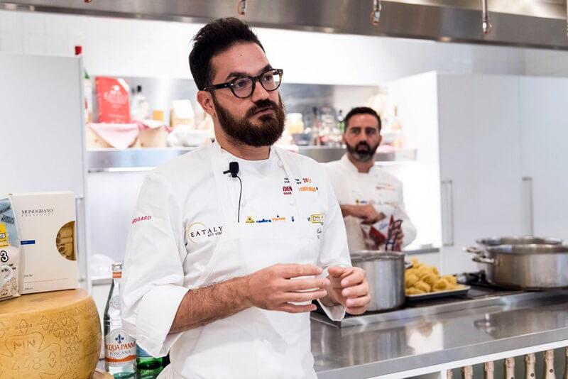Cucina stellata chef Luciano Monosilio Sina Chefs Cup Contest