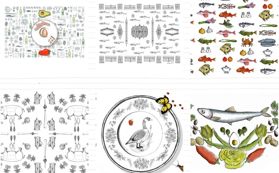 Le Tablecloths di Gianluca Biscalchin