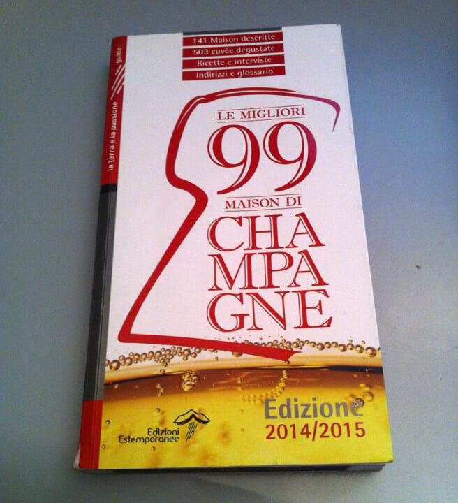 La copertina del Libro Le migliori 99 Maison de Champagne