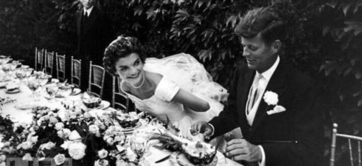 Banchetto di nozze di Jackie e J. Kennedy - Photocredit : http://life.time.com/