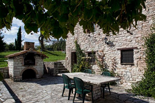 Riserva Privata San Settimio Spa e Resort (esterno Casa del Pane)