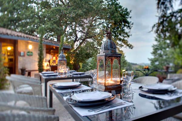 Riserva Privata San Settimio Spa e Resort (Outside Restaurant)
