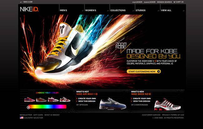 """Si discosta anche nella forma, invece, l'iniziativa Nike Individually Designed.  Lanciato nel lontano 1999, il servizio propone agli estimatori dello """"swoosh"""" di scegliere colore e stampe di alcuni modelli selezionati di sneaker e accessori."""